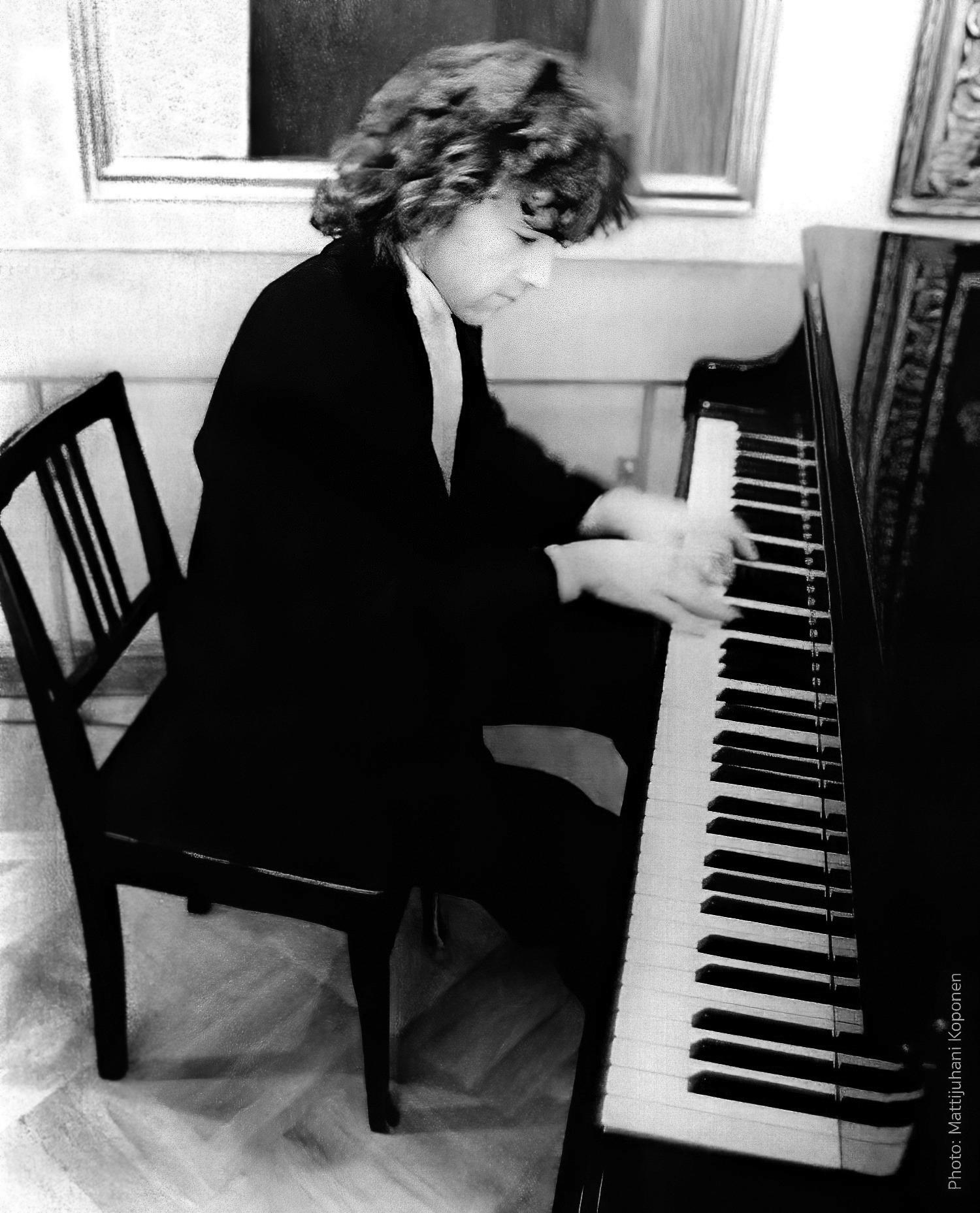 Practising in Helsinki, 1992.