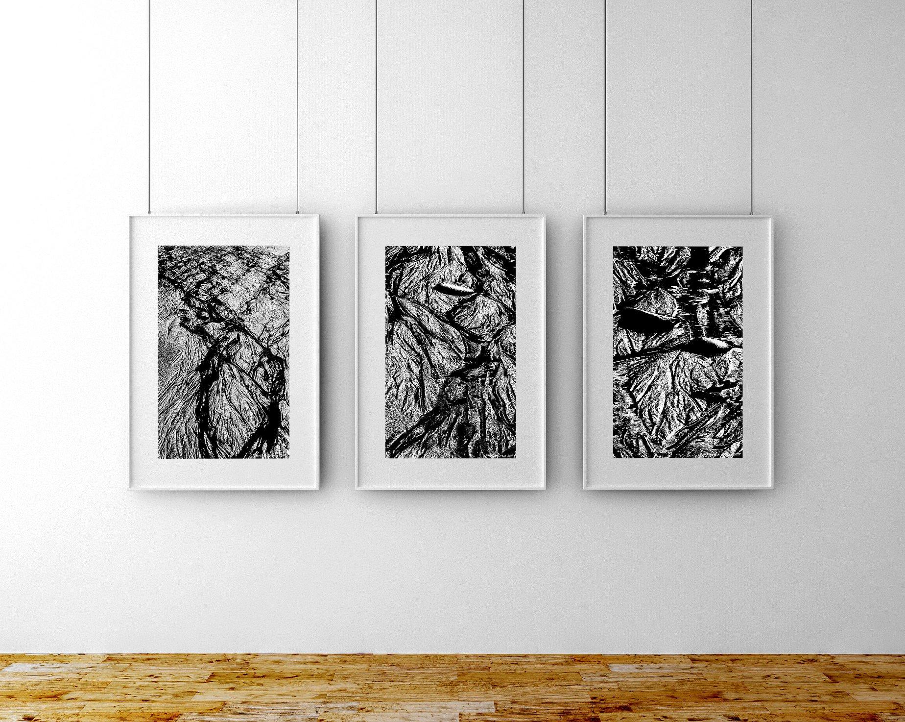 "My Fine Art print ""Veins of the Sea – Part 11"", 2017."