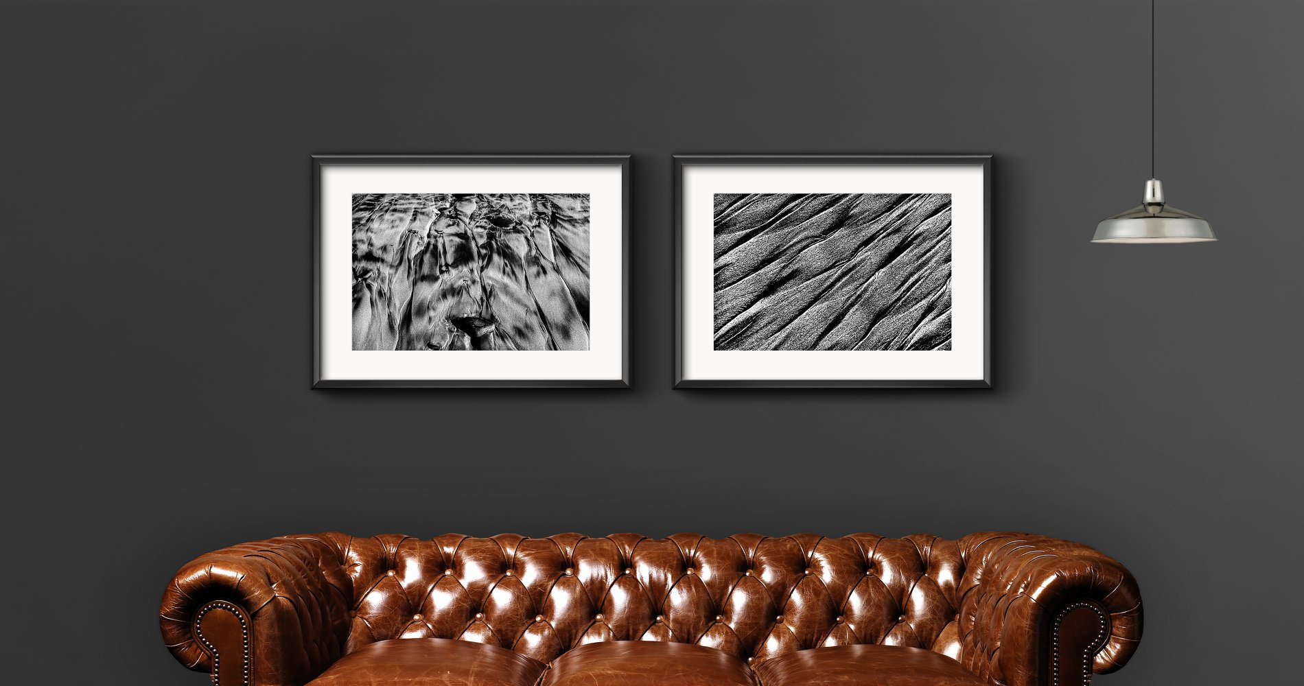"""My Fine Art prints """"Veins of the Sea - Part 2 and 7"""", 2017."""