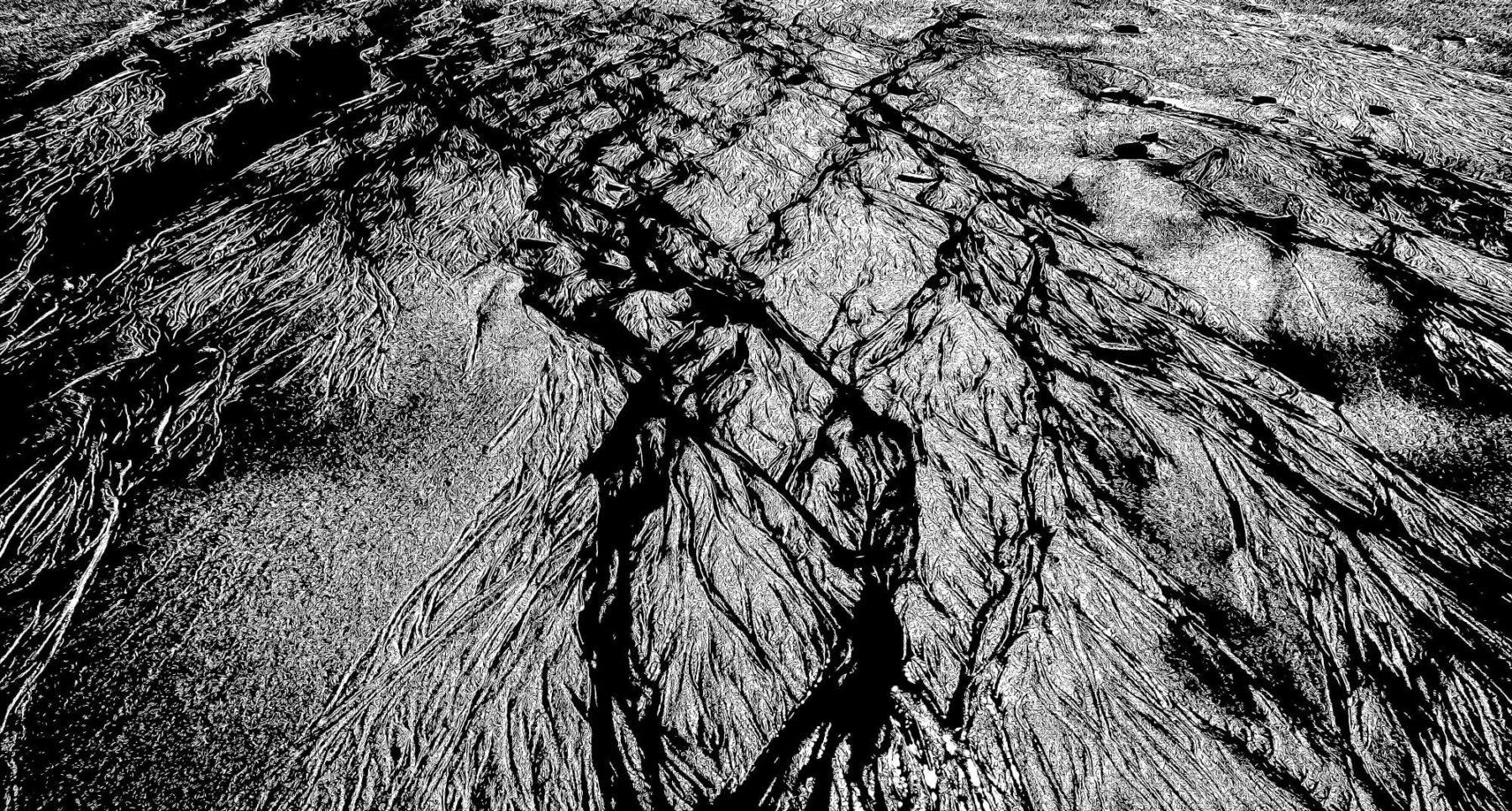 "My Fine Art print ""Veins of the Sea - Part 11"", 2017."