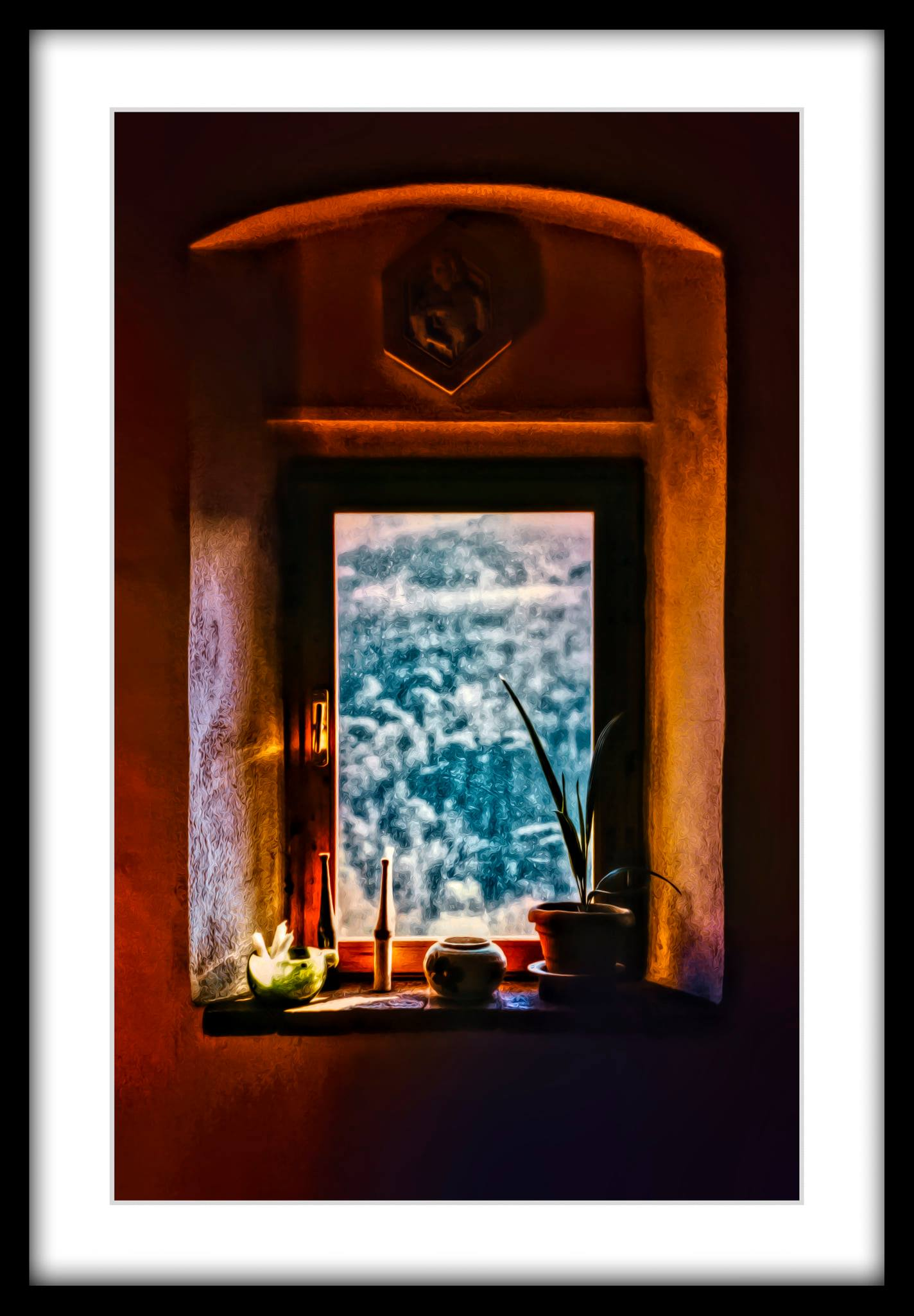 "Fine Art Print ""An Afternoon in Tuscany"", 1986/2019.."