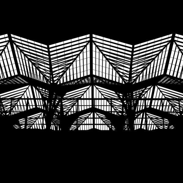 "My work titled ""Distortion – Part 6"", 2020."