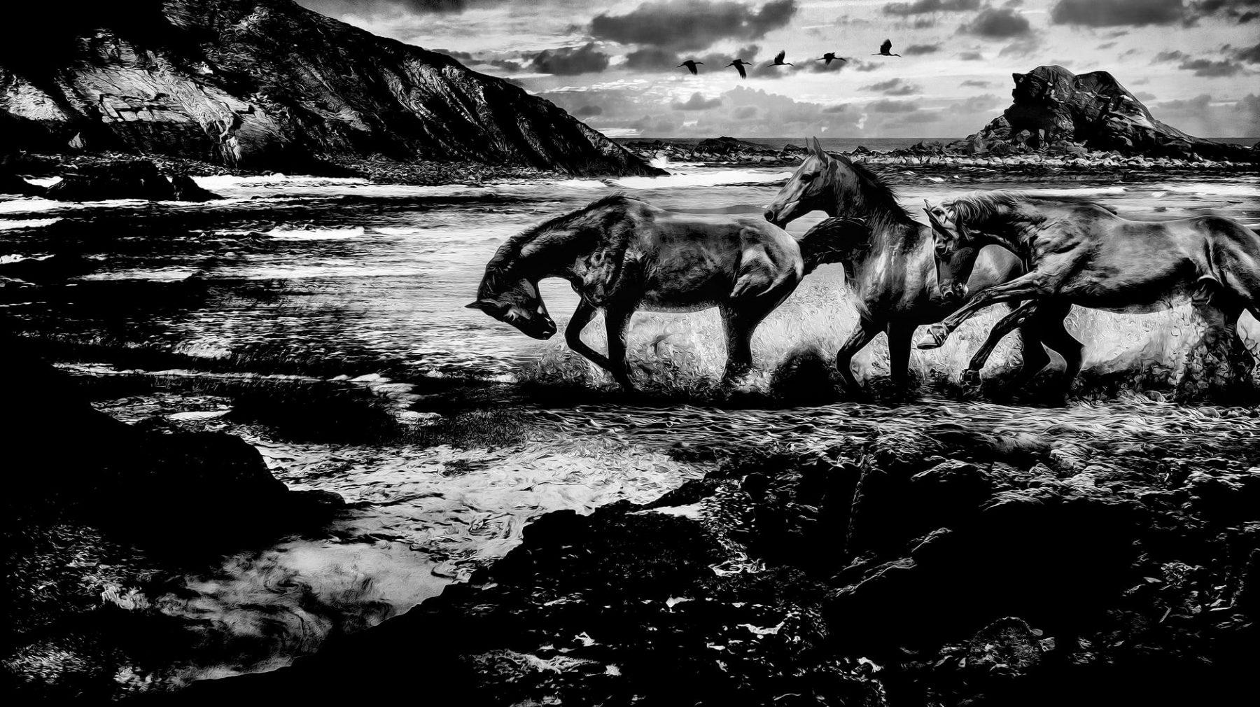 """Fine Art Print """"The Memory of the Lost Sea"""", 2018."""